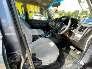 2009 Mitsubishi Pajero NT MY09 GLS Grey 5 Speed Sports Automatic Wagon.