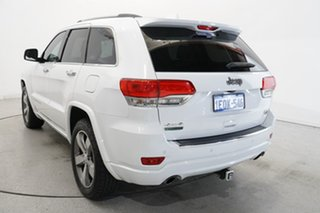 2014 Jeep Grand Cherokee WK MY2014 Overland Bright White 8 Speed Sports Automatic Wagon.