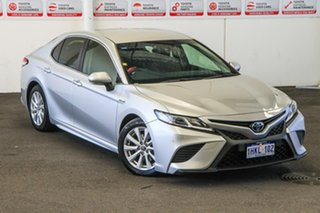 2017 Toyota Camry AXVH71R Ascent Sport Hybrid Silver Pearl Continuous Variable Sedan.