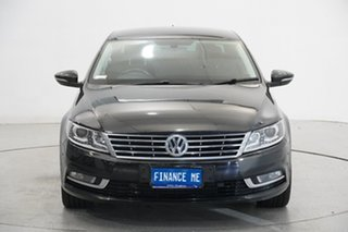 2014 Volkswagen CC Type 3CC MY15 130TDI DSG Black 6 Speed Sports Automatic Dual Clutch Coupe.