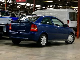 2003 Holden Astra TS MY03 SXI Blue 4 Speed Automatic Hatchback