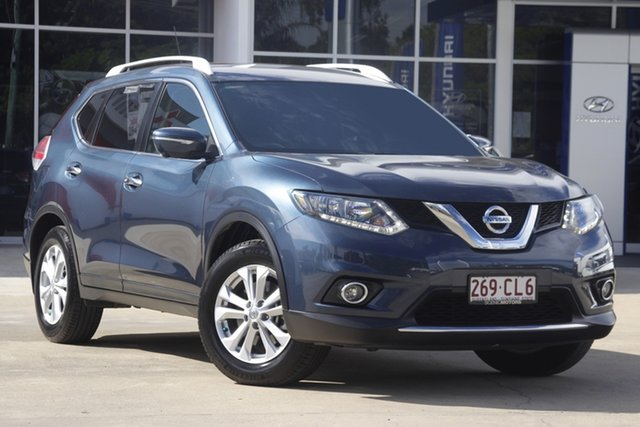 Used Nissan X-Trail T32 ST-L X-tronic 2WD Beaudesert, 2015 Nissan X-Trail T32 ST-L X-tronic 2WD Blue 7 Speed Constant Variable Wagon