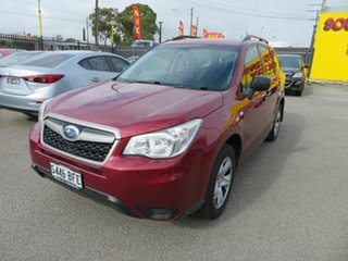 2013 Subaru Forester MY13 2.5I Red Continuous Variable Wagon.