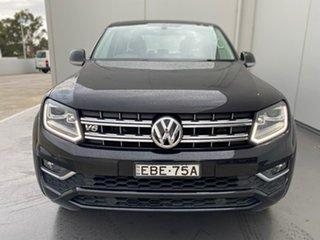 2017 Volkswagen Amarok 2H MY17 TDI550 4MOTION Perm Ultimate Black 8 Speed Automatic Utility.