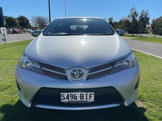 2013 Toyota Corolla ZRE182R Ascent S-CVT Silver Or Chrome/cloth 7 Speed Constant Variable Hatchback.