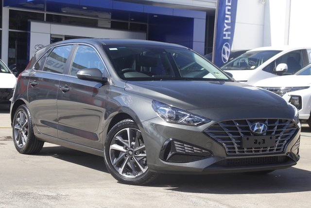 New Hyundai i30 PD.V4 MY22 Active Berri, 2021 Hyundai i30 PD.V4 MY22 Active Amazon Gray 6 Speed Sports Automatic Hatchback