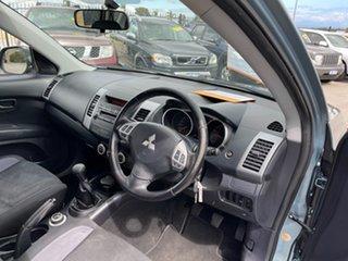 2008 Mitsubishi Outlander ZG MY08 LS Blue 5 Speed Manual Wagon