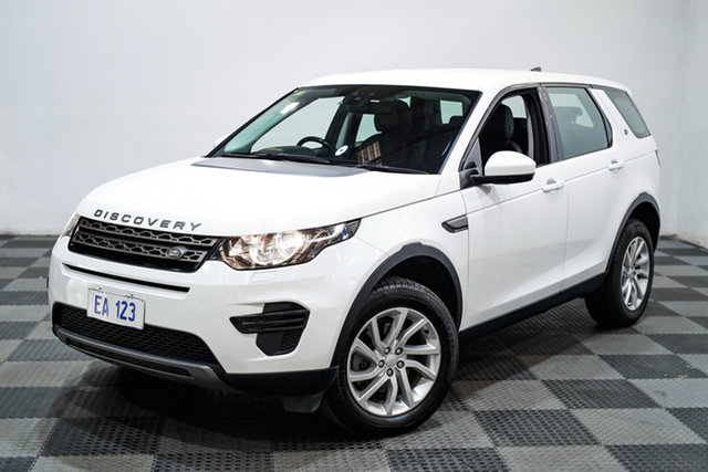 Used Land Rover Discovery Sport L550 17MY TD4 150 SE Edgewater, 2017 Land Rover Discovery Sport L550 17MY TD4 150 SE White 9 Speed Sports Automatic Wagon