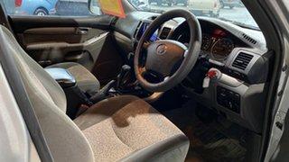 2003 Toyota Landcruiser Prado GRJ120R GXL Silver 4 Speed Automatic Wagon