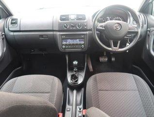 2014 Skoda Fabia 5JF MY14 77TSI DSG Ambition White 7 Speed Sports Automatic Dual Clutch Hatchback