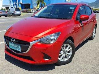2015 Mazda 2 DJ2HAA Maxx SKYACTIV-Drive Red 6 Speed Sports Automatic Hatchback.