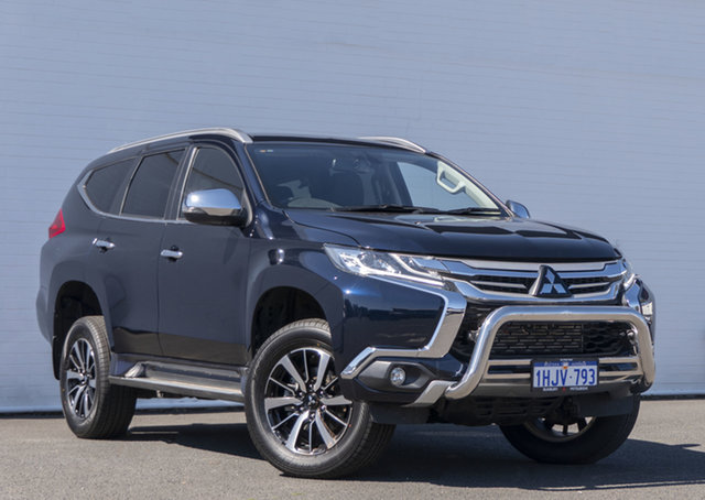 Used Mitsubishi Pajero Sport QE MY19 GLS Bunbury, 2018 Mitsubishi Pajero Sport QE MY19 GLS Blue 8 Speed Sports Automatic Wagon