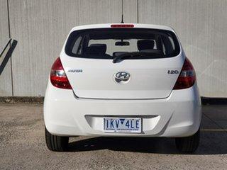 2011 Hyundai i20 PB MY11 Active White 4 Speed Automatic Hatchback