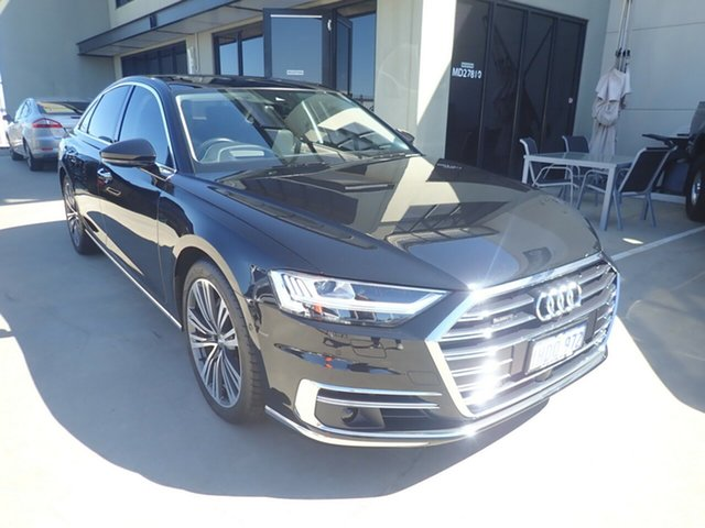 Used Audi A8 4N MY20 50 TDI Quattro Mhev Wangara, 2019 Audi A8 4N MY20 50 TDI Quattro Mhev Black Panther 8 Speed Automatic Tiptronic Sedan