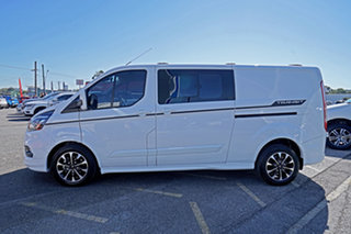 2020 Ford Transit Custom 320L (Low Roof) Sport White 6 Speed Automatic Double Cab Van