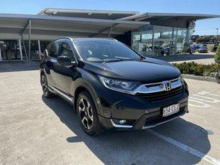 2017 Honda CR-V RW MY18 VTi-L FWD Black 1 Speed Constant Variable Wagon.