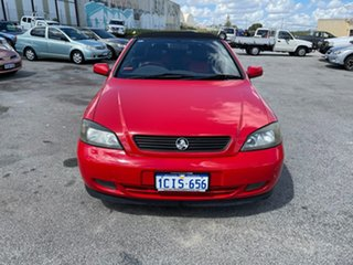 2004 Holden Astra TS Convertible Linea Rossa Red 5 Speed Manual Convertible.