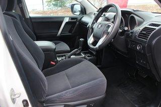 2015 Toyota Landcruiser Prado GDJ150R GX Glacier White 6 Speed Sports Automatic Wagon