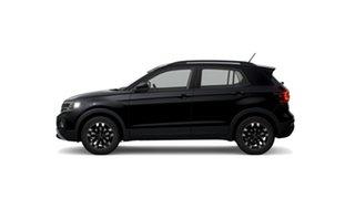 2021 Volkswagen T-Cross C1 85TSI Life Deep Black Pearl Effect 7 Speed Semi Auto SUV.