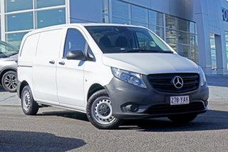 2018 Mercedes-Benz Vito 447 114BlueTEC SWB 7G-Tronic + White 7 Speed Sports Automatic Van.