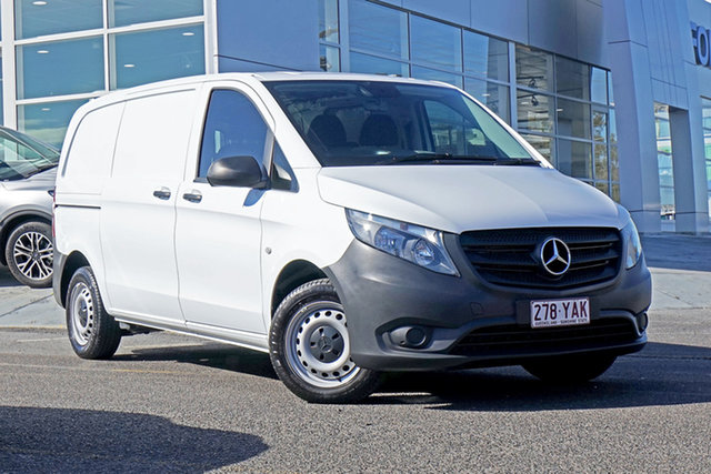Used Mercedes-Benz Vito 447 114BlueTEC SWB 7G-Tronic + Springwood, 2018 Mercedes-Benz Vito 447 114BlueTEC SWB 7G-Tronic + White 7 Speed Sports Automatic Van