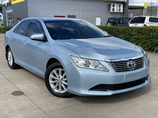 Used Toyota Aurion GSV50R AT-X Townsville, 2012 Toyota Aurion GSV50R AT-X Blue 6 Speed Sports Automatic Sedan
