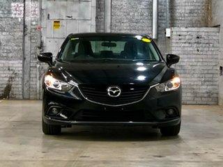 2013 Mazda 6 GJ1031 Sport SKYACTIV-Drive Black 6 Speed Sports Automatic Sedan.