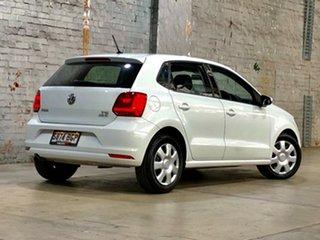 2015 Volkswagen Polo 6R MY15 66TSI Trendline White 5 Speed Manual Hatchback