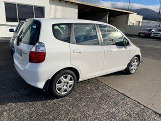 2007 Honda Jazz GD VTi White 7 Speed Constant Variable Hatchback