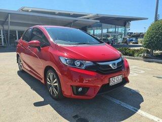 2016 Honda Jazz GF MY16 VTi-S Red 1 Speed Constant Variable Hatchback.