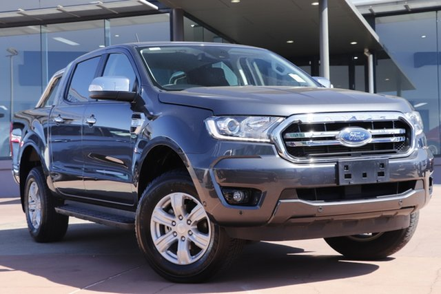 Used Ford Ranger PX MkIII 2020.25MY XLT Toowoomba, 2019 Ford Ranger PX MkIII 2020.25MY XLT Grey 6 Speed Sports Automatic Double Cab Pick Up