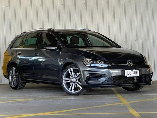 Used Volkswagen Golf 7.5 MY18 110TSI DSG Highline Moorabbin, 2017 Volkswagen Golf 7.5 MY18 110TSI DSG Highline Grey 7 Speed Sports Automatic Dual Clutch Wagon
