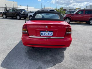 2004 Holden Astra TS Convertible Linea Rossa Red 5 Speed Manual Convertible