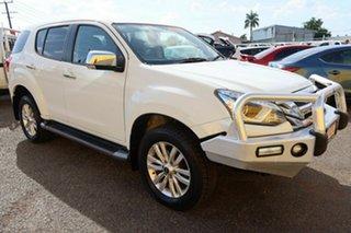 2017 Isuzu MU-X MY17 LS-U Rev-Tronic 4x2 White 6 Speed Sports Automatic Wagon.