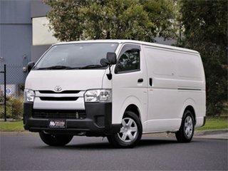 2015 Toyota HiAce KDH201V DX White 4 Speed Automatic Van.