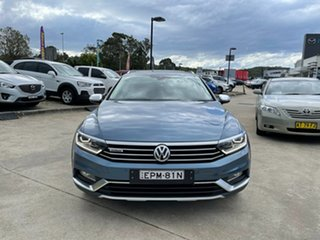 2016 Volkswagen Passat 3C (B8) MY16 140TDI DSG 4MOTION Alltrack Blue 6 Speed.