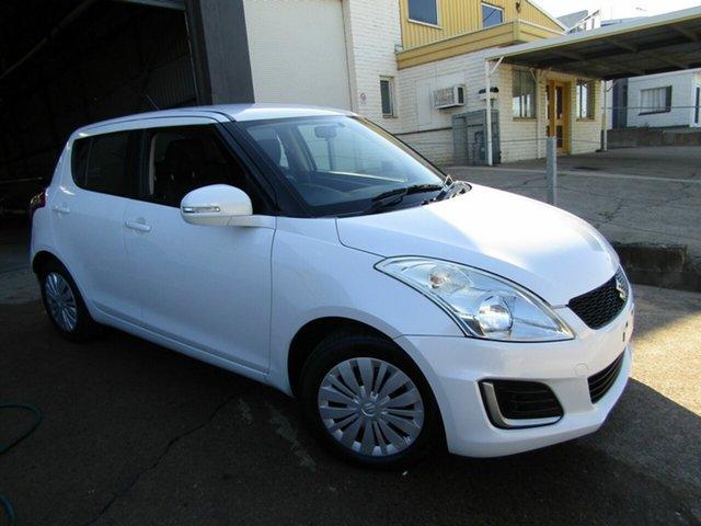 Used Suzuki Swift FZ MY14 GL Moorooka, 2014 Suzuki Swift FZ MY14 GL White 4 Speed Automatic Hatchback