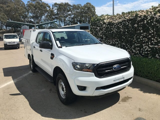 Used Ford Ranger PX MkIII 2019.00MY XL Hi-Rider Acacia Ridge, 2018 Ford Ranger PX MkIII 2019.00MY XL Hi-Rider White 6 speed Automatic Cab Chassis