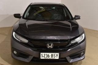 2017 Honda Civic 10th Gen MY16 RS Grey 1 Speed Constant Variable Sedan.