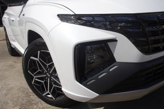 2021 Hyundai Tucson NX4.V1 MY22 2WD N Line White Cream 6 Speed Automatic Wagon.