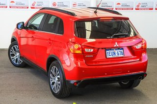 2015 Mitsubishi ASX XB MY15 LS (2WD) Red Continuous Variable Wagon.