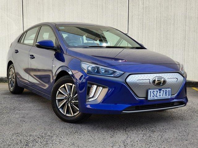 Used Hyundai Ioniq AE.3 MY20 electric Elite Oakleigh, 2019 Hyundai Ioniq AE.3 MY20 electric Elite Blue 1 Speed Reduction Gear Fastback