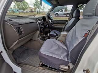 2000 Nissan Patrol GU II ST White 5 Speed Manual Wagon