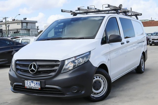 Used Mercedes-Benz Vito 447 114BlueTEC LWB 7G-Tronic + Coburg North, 2015 Mercedes-Benz Vito 447 114BlueTEC LWB 7G-Tronic + White 7 Speed Sports Automatic Van