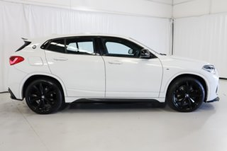 2018 BMW X2 F39 sDrive20i Coupe DCT Steptronic M Sport White 7 Speed Sports Automatic Dual Clutch.