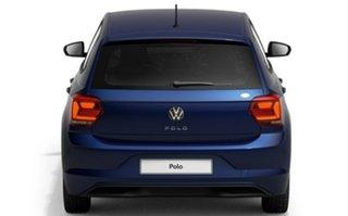 2021 Volkswagen Polo AW MY21 70TSI DSG Trendline Blue 7 Speed Sports Automatic Dual Clutch Hatchback.