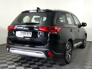 2018 Mitsubishi Outlander ZL MY19 ES 2WD Black 6 Speed Constant Variable Wagon.