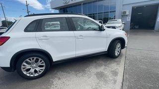 2019 Mitsubishi ASX XC MY19 ES 2WD White 1 Speed Constant Variable Wagon.