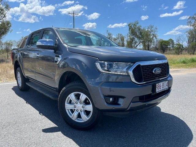 Used Ford Ranger PX MkIII 2021.25MY XLT Emerald, 2021 Ford Ranger PX MkIII 2021.25MY XLT Meteor Grey 6 Speed Sports Automatic Double Cab Pick Up