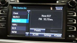 2016 Toyota Kluger GSU55R Grande AWD Eclipse Black 6 Speed Sports Automatic Wagon